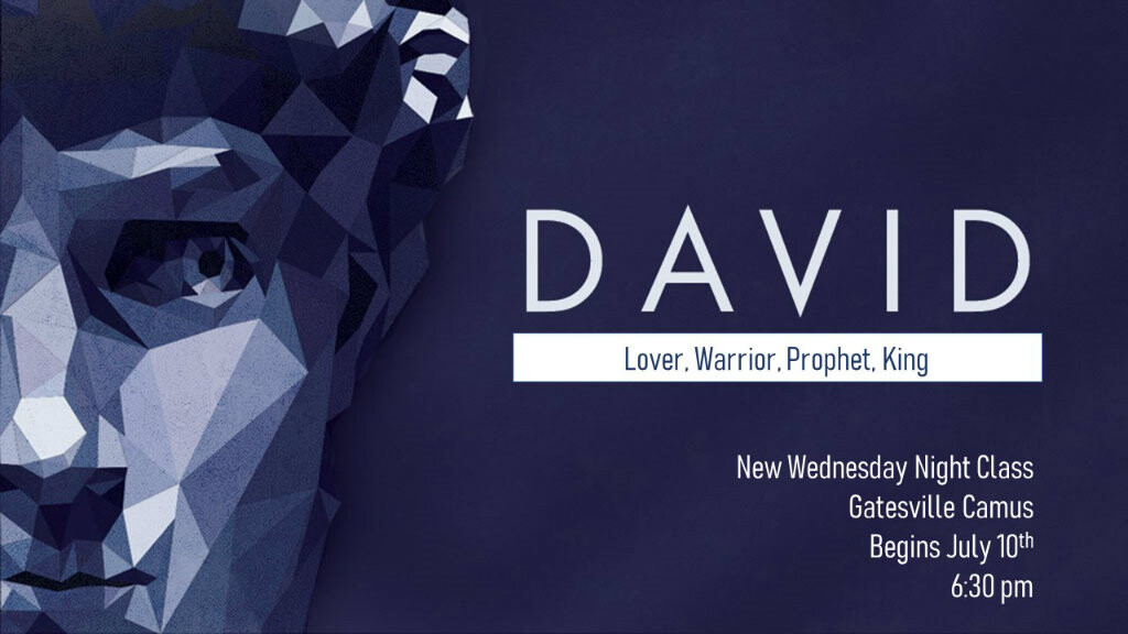 DD Class-David: Lover, Warrior, Prophet, King