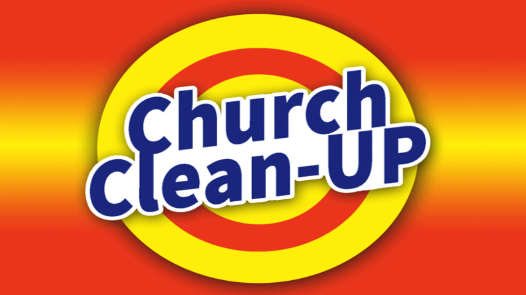 Church Cleaning Day