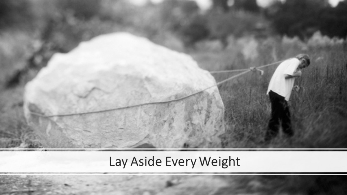 Lay Aside Every Weight Workshop